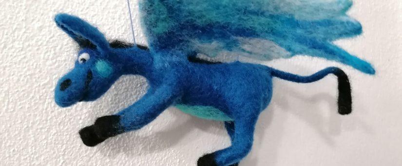 Sculture di lana