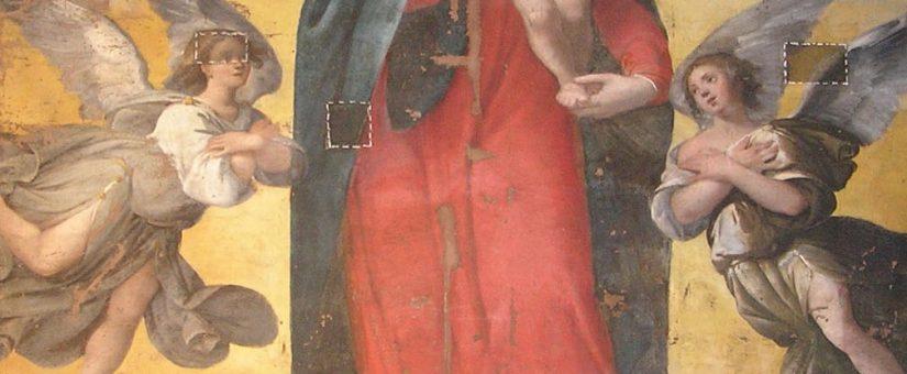 Restauro di un dipinto su tela del XVII secolo