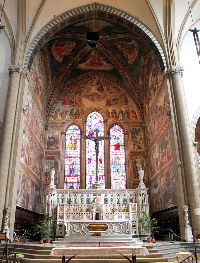 Vetrata Cappella Tornbuoni