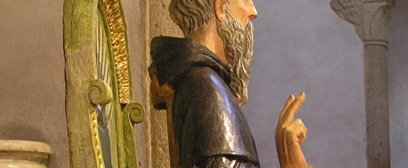 Restauro di una statua lignea