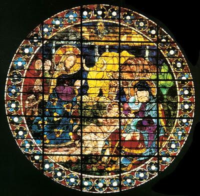 Paolo Uccello, vetrata natività