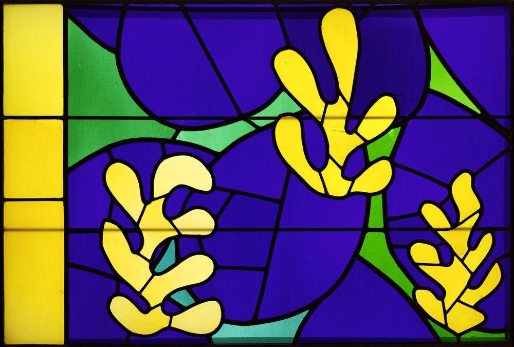 Henri Matisse, vetrata di Vence