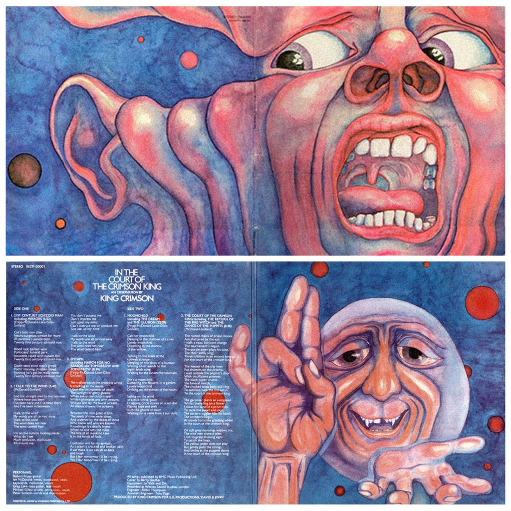 Copertina In the Court of the Crimson King