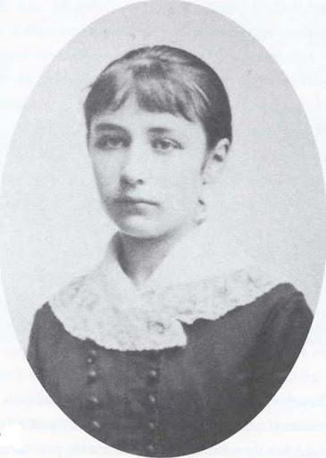 Camille Claudel fanciulla