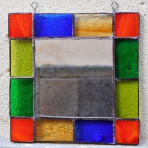 Specchio vetro Tiffany