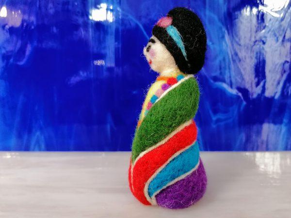 Frida mignon, profilo blu