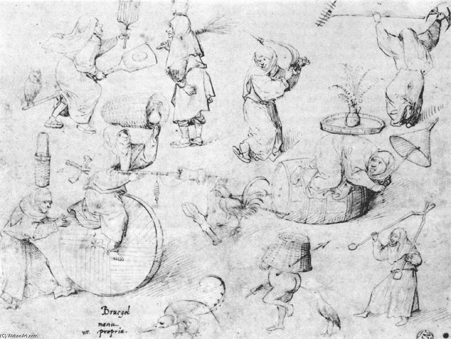 Hieronimus Bosch, studio per streghe