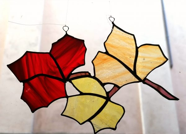 suncatcher foglie autunno