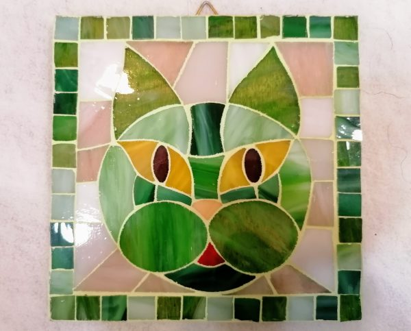 Mosaico con gatto