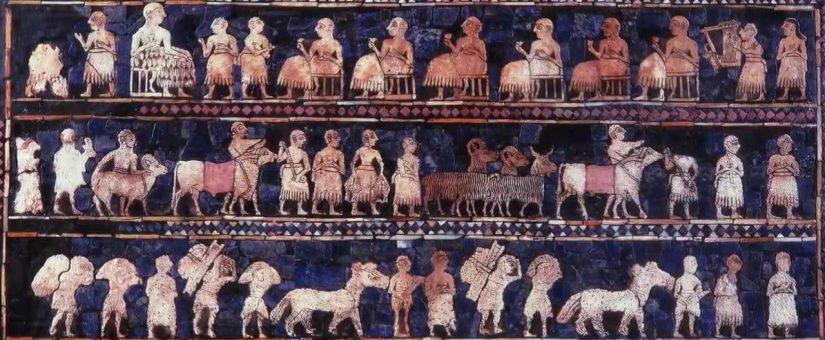 Il Mosaico, dalle origini al periodo greco e romano.