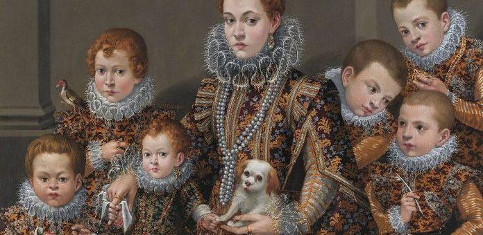 Continua la storia del ritratto pittorico