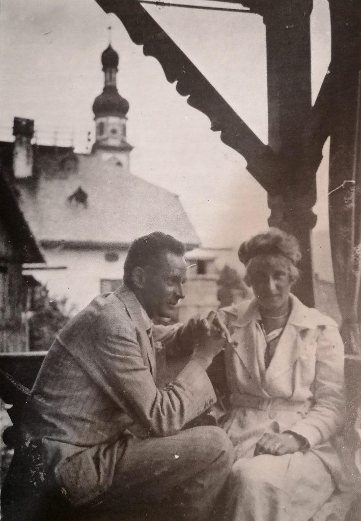 Egon ed Edith Schiele, estate 1918