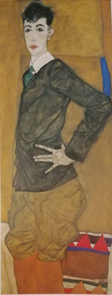 Ritratto di Erich Lederer, 1912-13