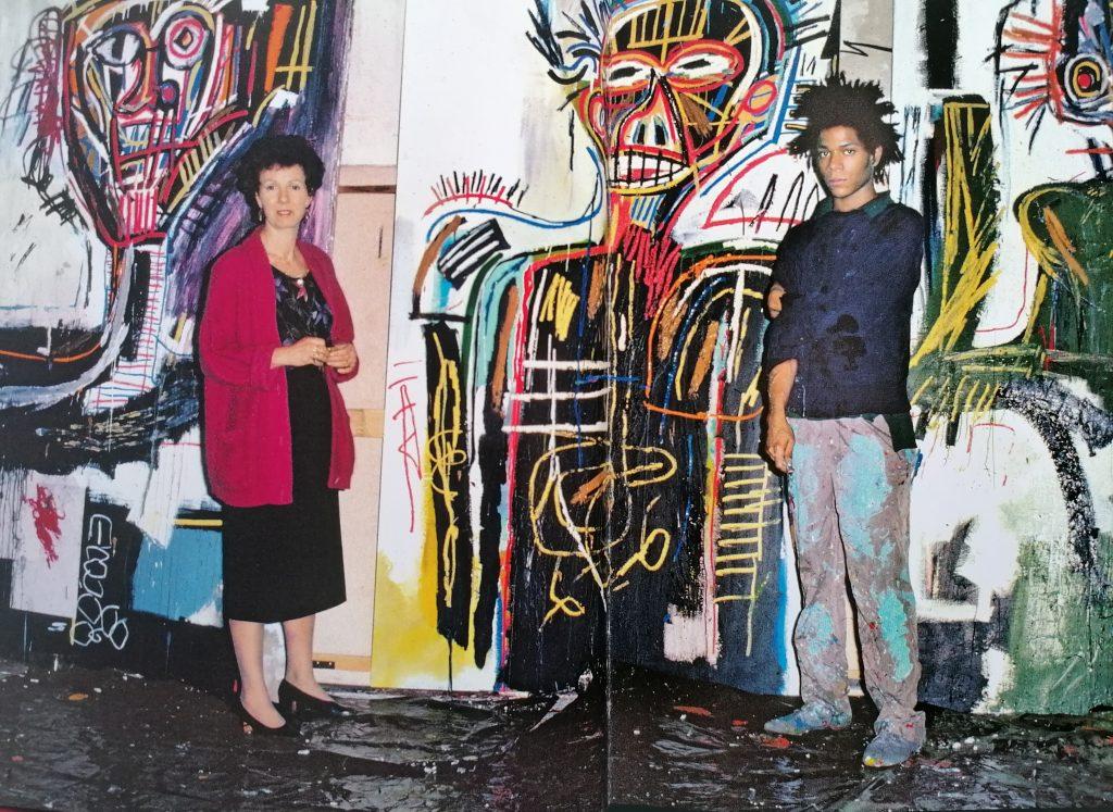 Annina Nosei e Jean-Michel Basquiat
