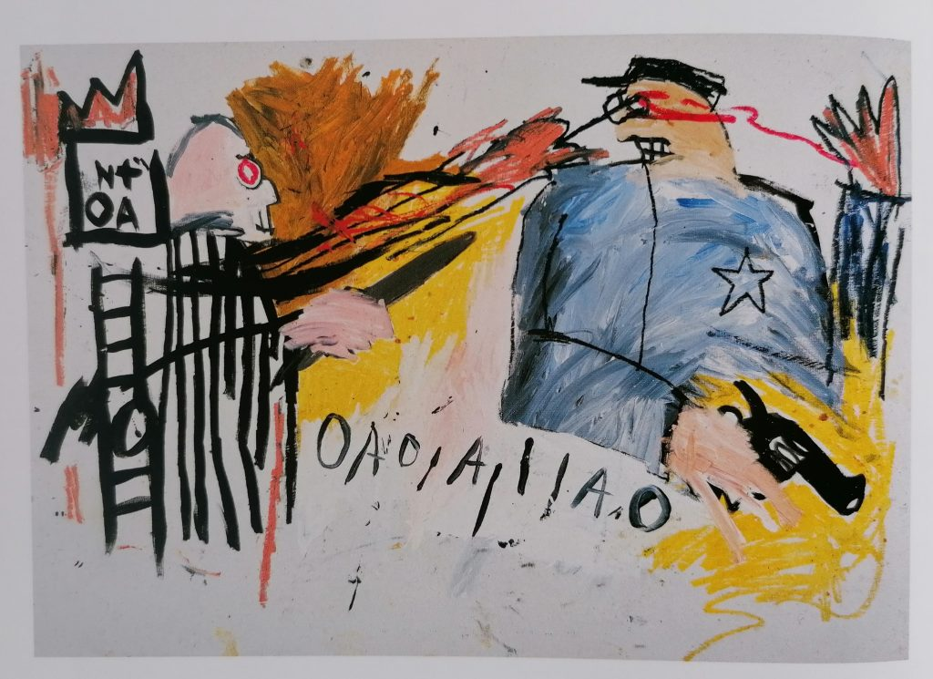 Basquiat, Sheriff, 1981