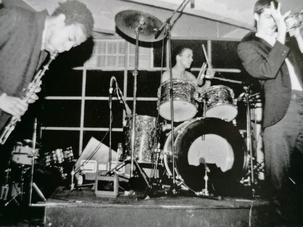 I Gray in concerto, New York, 1979