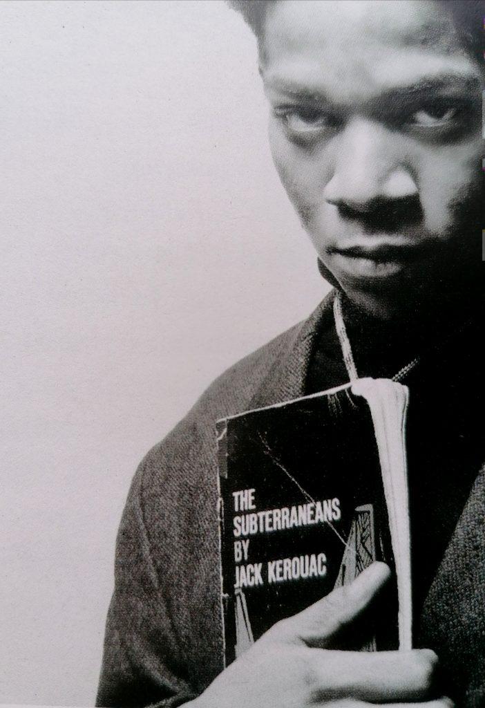 Basquiat fotografato da Jerome Schlomoff, 1986